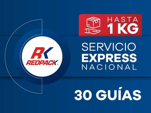 30 Guías Prepagadas Express Hasta 1 Kg