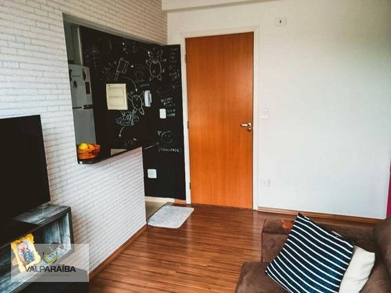 Apartamento Com 2 Dormitórios À Venda, 45 M² Por R$ 197.000 - Jardim Satélite - São José Dos Campos/sp - Ap0481