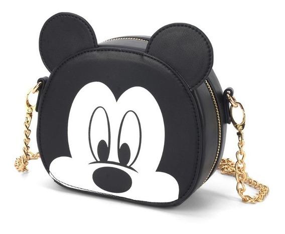 Bolsa Mickey Transversal Licenciada Disney / Original 78371