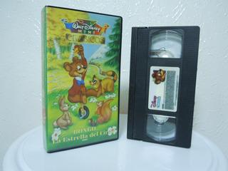 Películas Infantiles Vhs, Bongo, Mini Clásicos, Walt Disney