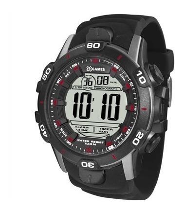 Relógio X-games Digital Masculino Xmppd411 Casual Preto