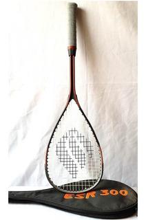 Raquete Squash Ektelon Esr 300 Com Capa Usada Apenas 1 Vez