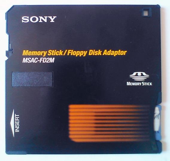 Adaptador Floppy Disk Para Memory Stick