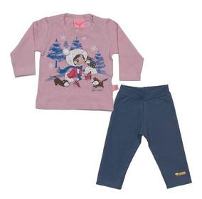 Conjunto Baby 2516/2524 Blusa E Calça Legging