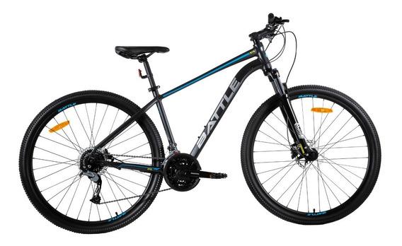 Bicicleta Battle Mountain Bike Rodado 27.5 27 Velocidades