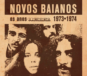 Novos Baianos Box (2 Cds) 1973 & 1974 - Os Anos Continental
