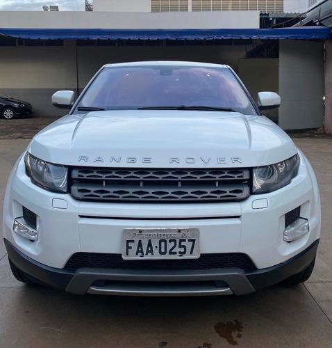 Range Rover Evoque Pure 2012 Branco Interior Caramelo