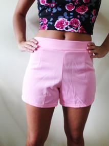Shorts Casual Flirty Rosa