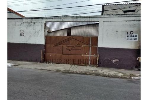 Imagem 1 de 3 de Galpão Com 1.200m²  No Brás !!