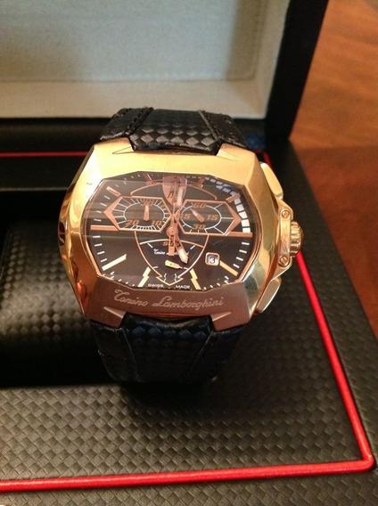 Relógio Tonino Lamborghini Gt1 Modelo 815rg Rose