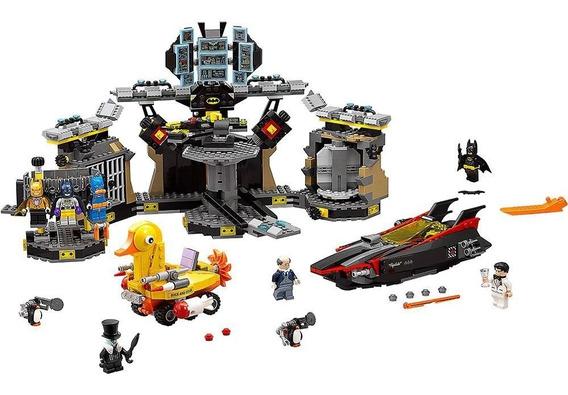 Lego Batman 1098+peças Filme A Invasão A Batcaverna Lego Bat