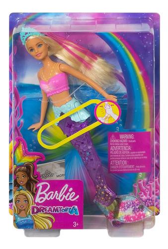 Imagen 1 de 6 de Barbie Sirena Brillante
