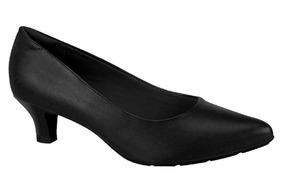 Sapato Scarpin Modare Salto Baixo Original Pronta Entrega