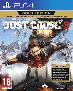 Just Cause 3 Gold Edition ~ Ps4 Digital Español