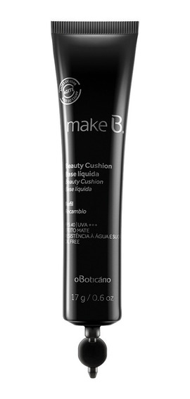 Refil Make B. Base Líquida Beauty Cushion Bege Médio