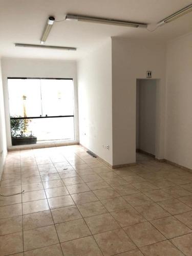 Sala Para Alugar, 40 M²  - Centro - São Bernardo Do Campo/sp - Sa4325