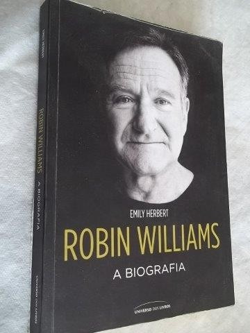 * Livro - Robin Williams - A Biografia - Arte Cinema
