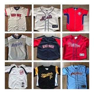 Jerseys Beisbol Mlb Redsoxs Mets Varios Equipos Bebe Y Niño