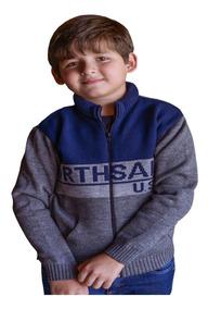 Blusa Infantil De Frio Acolchoada Casaco Menino Quentinho