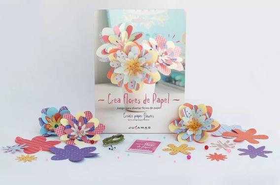 Crea Flores De Papel Jugamas Diseña