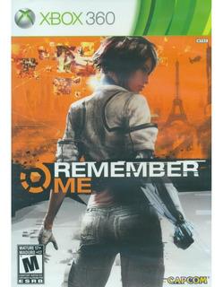 Remember Me Xbox 360 Nuevo