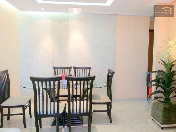 Apartamento Com 3 Dormitórios À Venda, 65 M² Por R$ 562.000,00 - Vila Prudente - São Paulo/sp - Ap0519