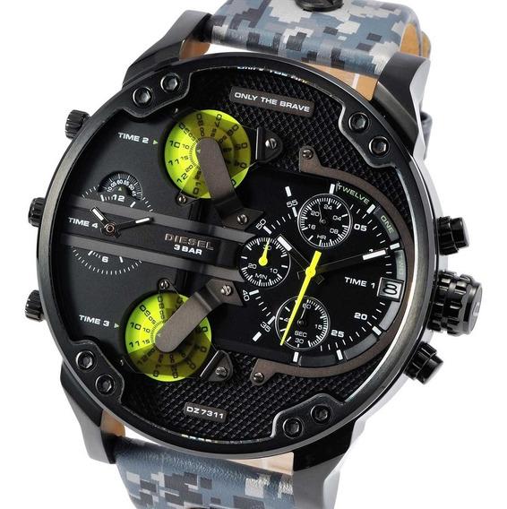 Reloj Diesel Dz7311 Mr Daddy Gunmetal + Envio Gratis