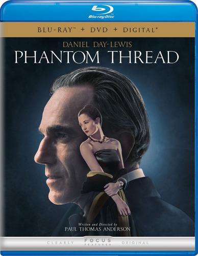 Imagen 1 de 3 de Blu-ray + Dvd Phantom Thread / El Hilo Fantasma