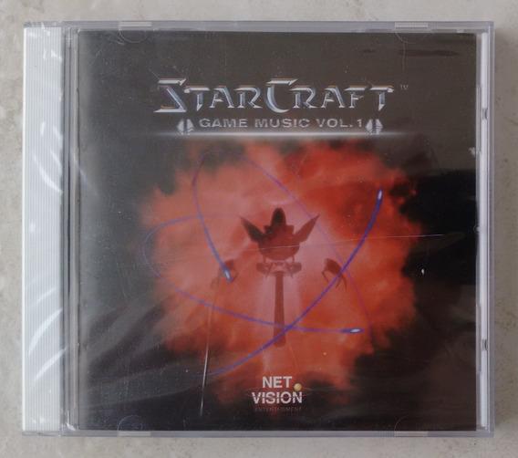 Starcraft - Cd Lacrado Das Músicas ( Ost )