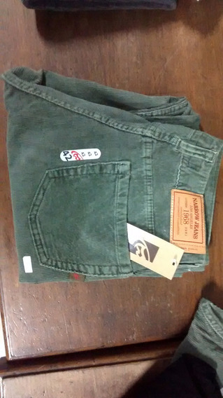 Pantalon Corderoy Corte Jeans