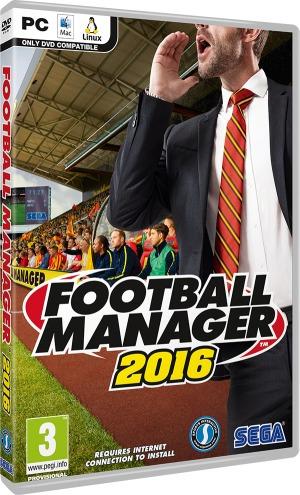 Football Manager 2016 - Pc Dvd - Mídia Física - Frete 8 R$