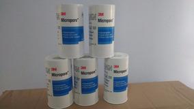 Fita Micropore Branca 10cm X10m 3m C/5un