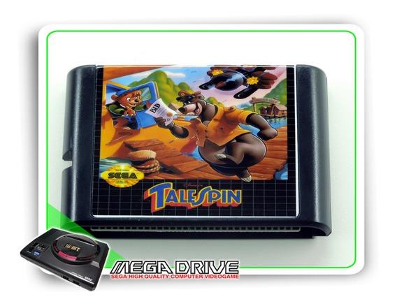 Talespin Sega Mega Drive / Genesis - Novo