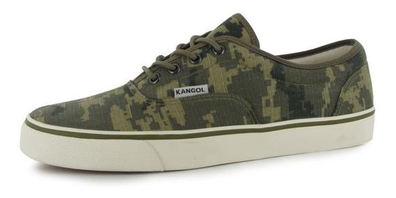 ® Zapatillas Kangol Hombre Camuflado 43