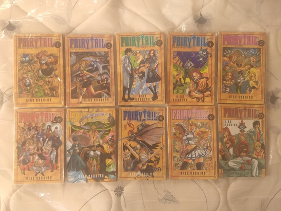 Manga Fairy Tail Pacote 1 - 10