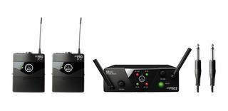Akg Wms40 Dual Sistema Inalámbrico Para Instrumentos Con Envio Gratis 18msint