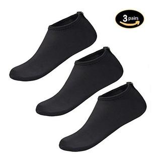 Skin Shoes Qleyo Acuático Aqua Calcetines Para La Playa De A