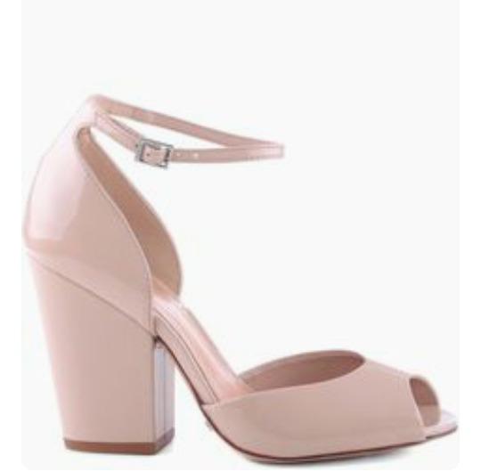 Sapatos Femininos Sandálias Vinil Rosa Bebe