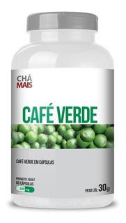 Café Verde 500mg - 60 Cápsulas - Chá Mais