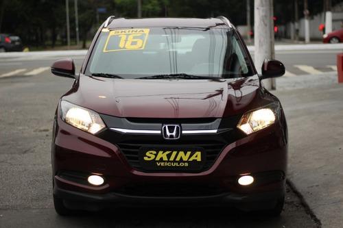 Honda Hr-v Exl Top De Linha Unico Dono 2016