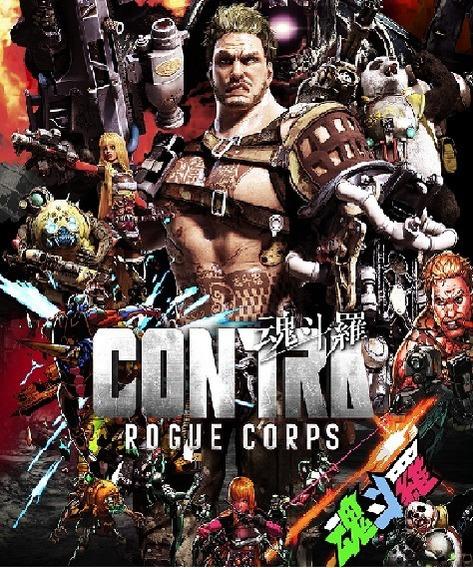 Contra: Rogue Corps ( Mídia Física ) Pc- Dvd Frete Gratis