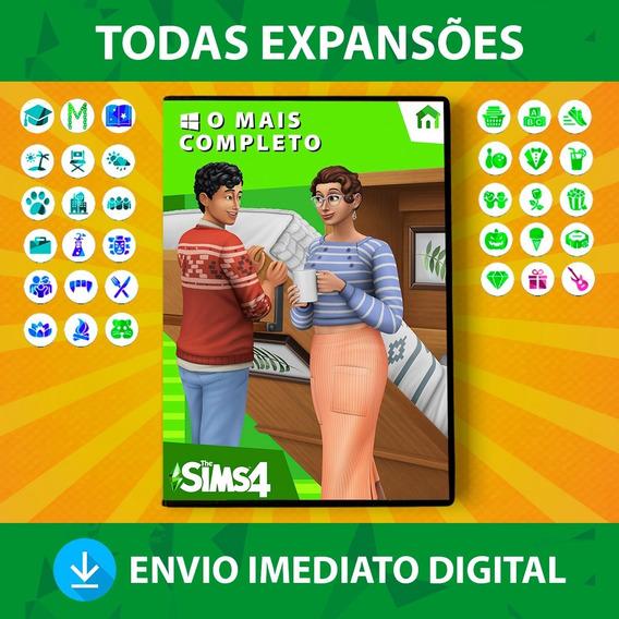 The Sims 4 + Todas Expansões + Pacotes + Objetos Digital Pc