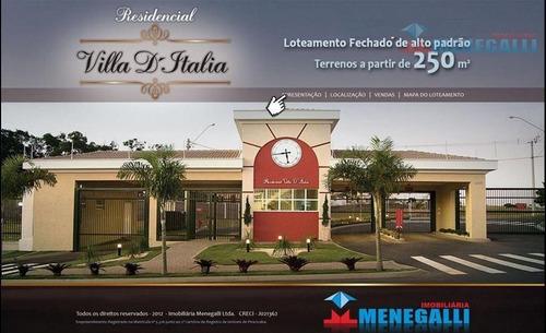 Imagem 1 de 17 de Terrenos E Casas Novas - Residencial Vila D`italia - Te0002