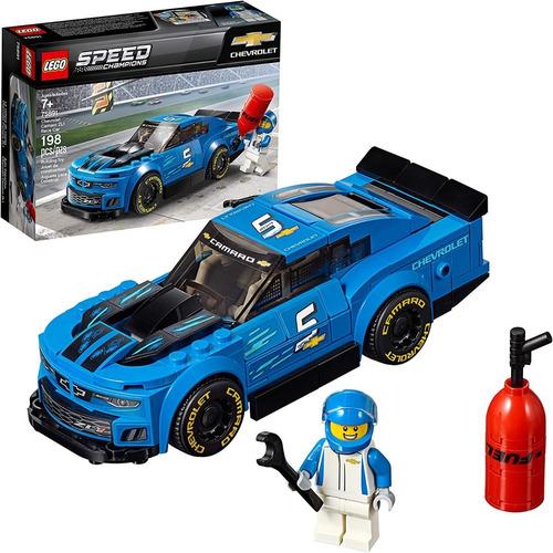 Lego Speed Chevrolet Camaro Zl1 Kit De Construcción 198 Piez