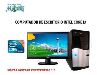 Computador Completo Tecnología Intel Core I3 De 3era G.