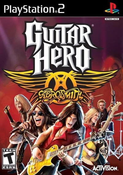 Jogos Guitar Hero 1 2 3 E Aerosmith Ps2 Playstation 2 Patch