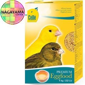 Cédé Eggfood Canaries 1kg Farinhada Tradicional Ovo Canário