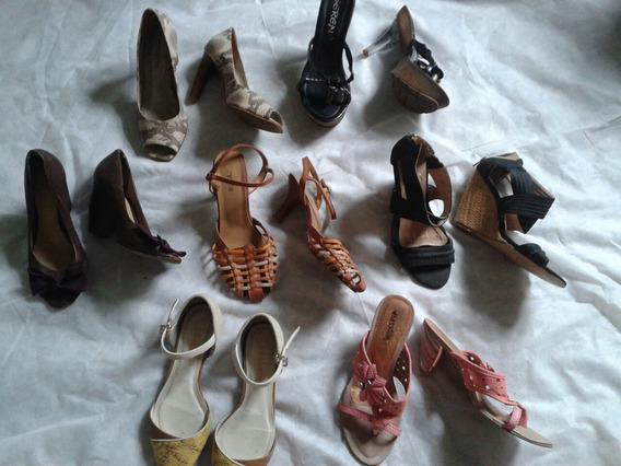 7 Pares De Calçados Feminino Tm 34 Promoçao