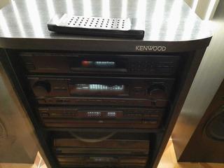 Componente Kenwood Modular Vintage Amplificador Tornamesa
