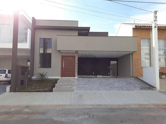Casa À Venda, 165 M² Por R$ 590.000,00 - Condomínio Villagio Milano - Sorocaba/sp - Ca6573